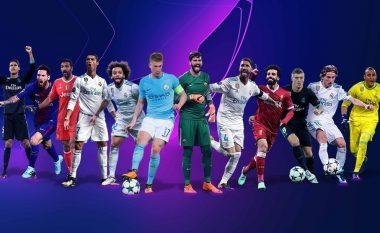 UEFA zbulon nominimet për portierin, mbrojtësin, mesfushorin dhe sulmuesin e sezonit 2017/18 në Ligën e Kampionëve