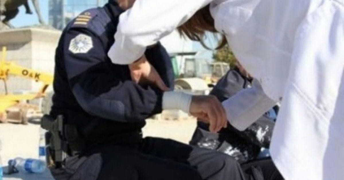E dënuan sepse shkaktoi aksident, një qytetar i Drenasit sulmon tre policë