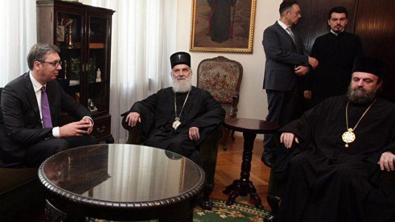 Vuçiq: I tregova hapur Patriarkut Irinej çka mendoj për Kosovën