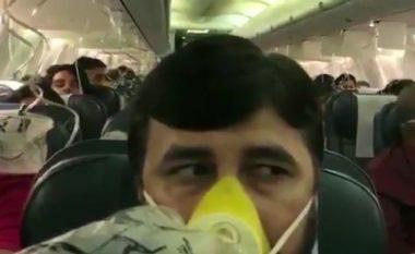 """Pasagjerët në aeroplan kishin gjakderdhje nga veshët dhe hundët, pasi ekuipazhi """"harroi të aktivizoi sistemin e presionit të kabinës"""" (Video)"""