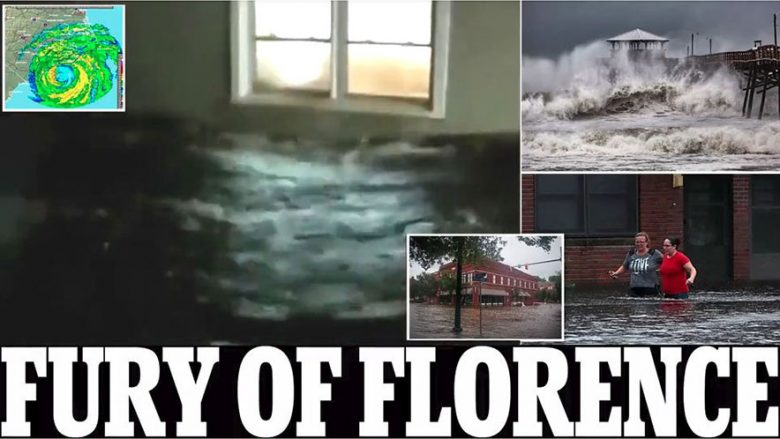 Furia e një uragani, shembet hoteli (Foto/Video)