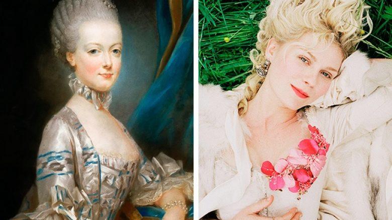 """Marie Antoinette dhe Kirsten Dunst, filmi """"Marie Antoinette"""", 2006"""