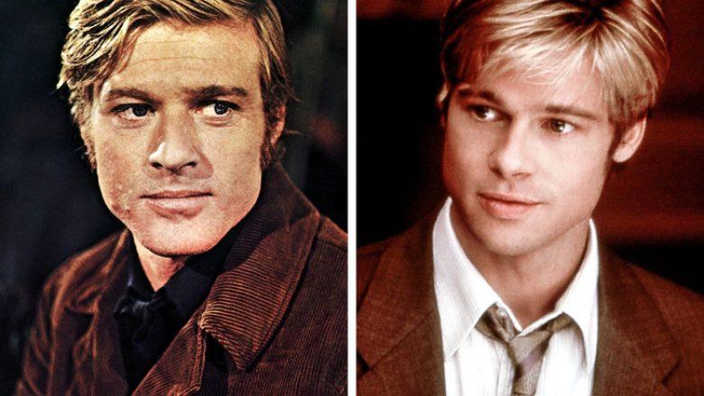 12. Robert Redford dhe Brad Pitt