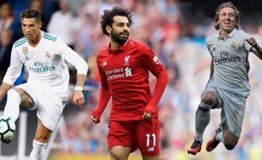 Modric, Ronaldo dhe Salah, cili do të marrë sonte çmimin 'The Best'