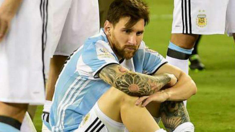 Trajneri i Messit te Argjentina: Ai ka pasur momente të këqija pas ndeshjes me Kilin, qante si një fëmijë që e humb nënën e tij