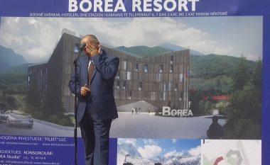 """Nisin punimet në Qendrën Turistike """"Borea"""": Muhaxheri shpërthen në lot, thotë së po realizohet një ëndërr e madhe (Video)"""