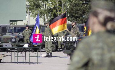 Gjermania ndihmon FSK-në me 44 automjete dhe pajisje tjera (Video)
