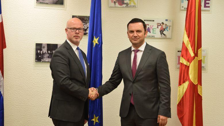 Norvegjia ndihmon Maqedoninë me dy milionë euro për negociatat me BE-në