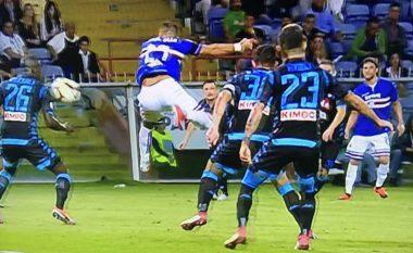 Quagliarela i shënon Napolit golin e sezonit në Serie A, tifozët nuk iu besojnë syve