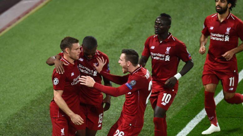 Pesë gola dhe spektakël në Anfield, Liverpool fiton në kohën shtesë