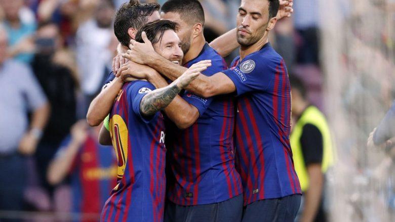 Barcelona fiton me PSV-në, Messi e nis me het-trik
