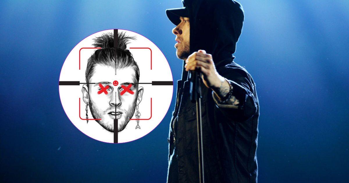 Nuk ndalet Eminem, tjetër 'diss' ndaj Machine Gun Kelly