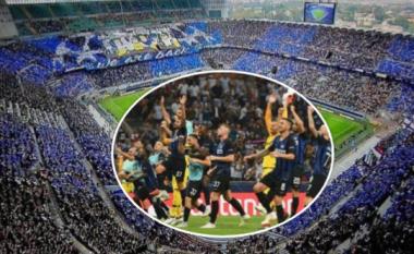 Tifozët e mbushin Giuseppe Meazzan, Interi fiton shtatë milionë nga tri ndeshjet e para në shtëpi