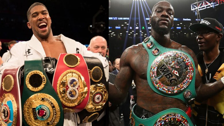 Anthony Joshua dhe Deontay Wilder (Foto: Getty Images)