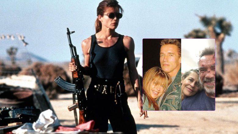 Linda Hamilton, Arnold Schwarzenegger (Foto: GeekTyrant/Instagram)
