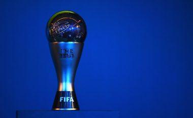 FIFA publikon emrat e tre finalistëve për lojtarin dhe trajnerin e vitit