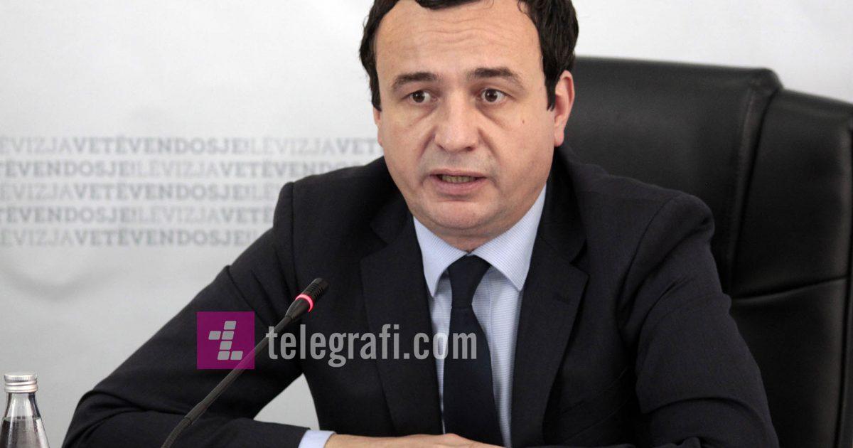 Kurti: I ashtuquajturi President i Kosovës e ka vënë shtetin tonë në pazar