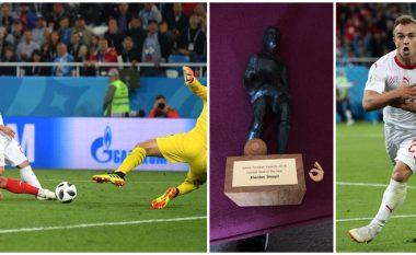 Federata e Zvicrës zgjedh golin e Shaqirit ndaj Serbisë si më të mirin për vitin 2018