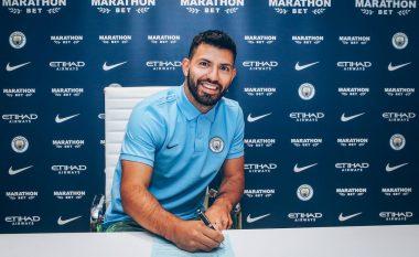 Zyrtare: Man City 'blindon' Agueron me kontratë të re