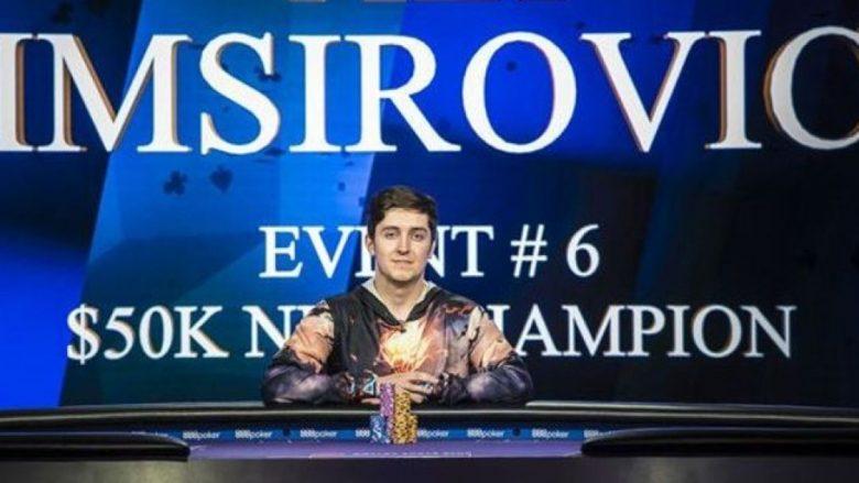 """Shkoi si fëmijë në Amerikë, i buzëqesh fati – boshnjaku fiton """"çmimin e madh"""" të Pokerit në Las Vegas (Foto)"""
