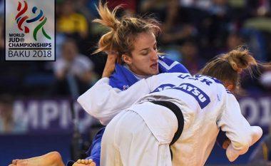 Distria Krasniqi e nis me fitoren Kampionatin Botëror, por mposhtet në raundin e dytë nga ukrainasja Bolodid