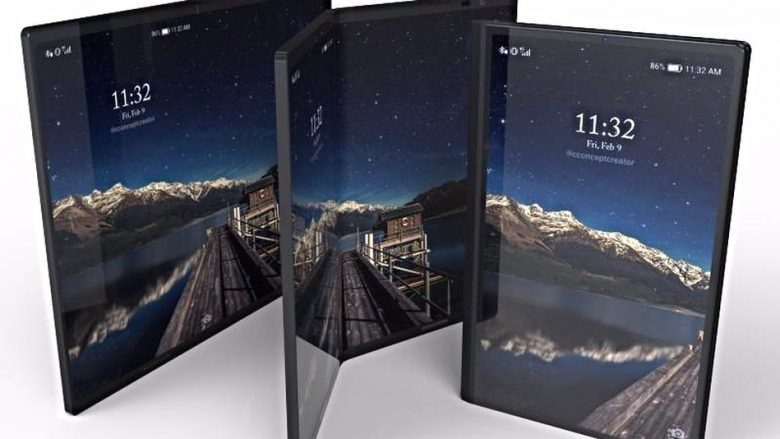 Huawei dëshiron të zëvendësoj PC-të me telefonat e palosshëm
