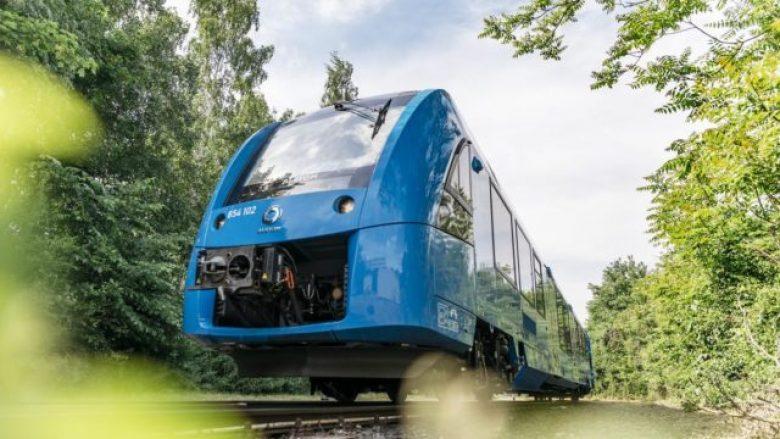 Gjermania fut në shërbim trenat e parë në botë të fuqizuar nga hidrogjeni