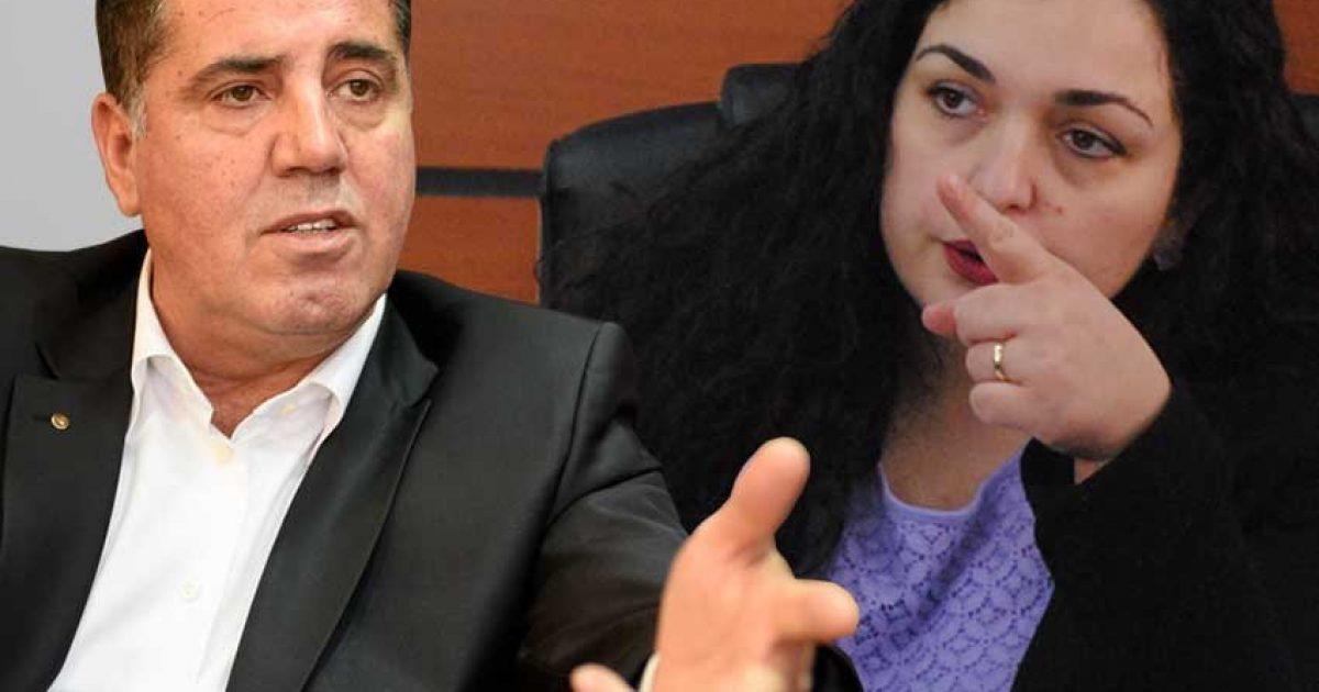 Vjosa Osmani i përgjigjet Lutfi Hazirit: Jam bijë e Mitrovicës, marre ju qoftë atyre që i bëjnë argat ndarjes së Kosovës