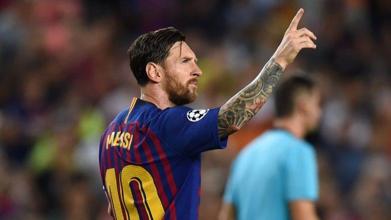 Messi zgjidhet lojtari i javës në Ligën e Kampionëve