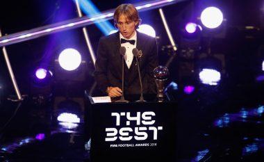 Modric zgjidhet 'Lojtari i Vitit' nga FIFA