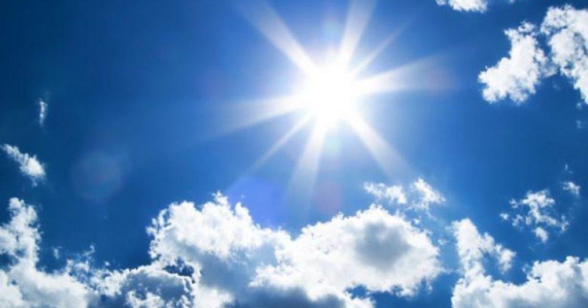 Moti deri në 33 gradë celsius