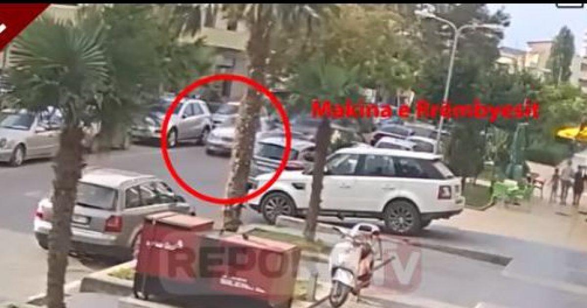 Kamerat regjistrojnë momentin e rrëmbimit të një personi në Vlorë (Video)