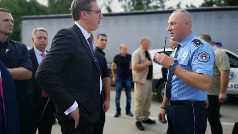 Polica e Kosovës e ndalon Vuçiqin të shkojë në Drenicë
