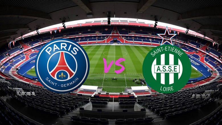 Formacionet zyrtare: PSG për triumfin e radhës ndaj Saint Etienne