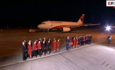 """Ulet aeroplani i parë """"Air Albania"""", Rama: Synojmë t'i bashkojmë shqiptarët (Video)"""