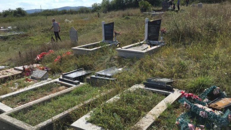 Një person dëmton të gjitha varret në Llapashticë