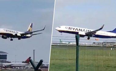 """Erërat e fuqishme, aeroplani dështon të aterrojë – piloti u desh të merrte """"vendimin e sekondave të fundit"""" (Video)"""