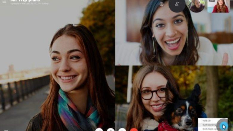 Skype sjell tiparin e regjistrimit të thirrjeve