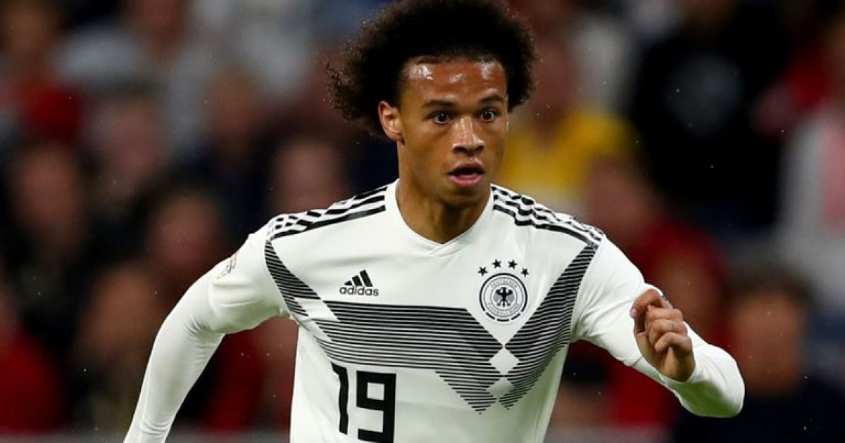 Leroy Sane largohet nga skuadra e Gjermanisë për 'arsye private'