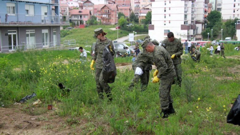 """FSK i bashkohet aksionit """"Ta pastrojmë Kosovën"""""""