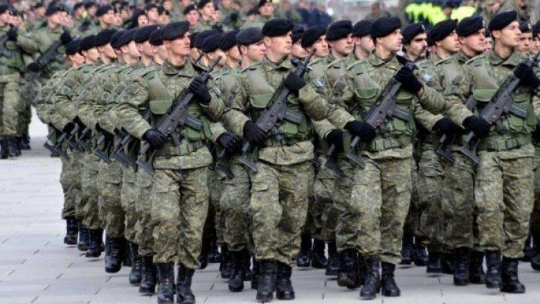 Po formimit të ushtrisë, por vetëm me përkrahje të ndërkombëtarëve