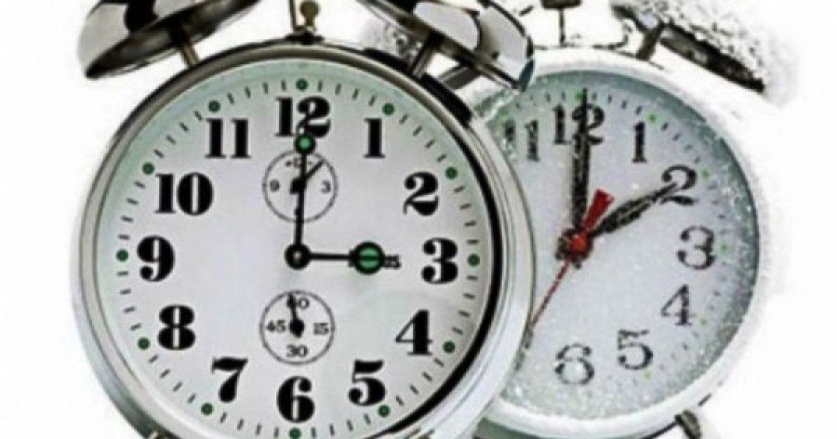 Mos harroni, të dielën ndryshon ora