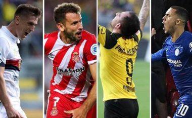 Kandidatët e pabesueshëm për Këpucën e Artë - Piatek, Stuani, Hazard dhe Alcacer, sundojnë në ligat kryesore