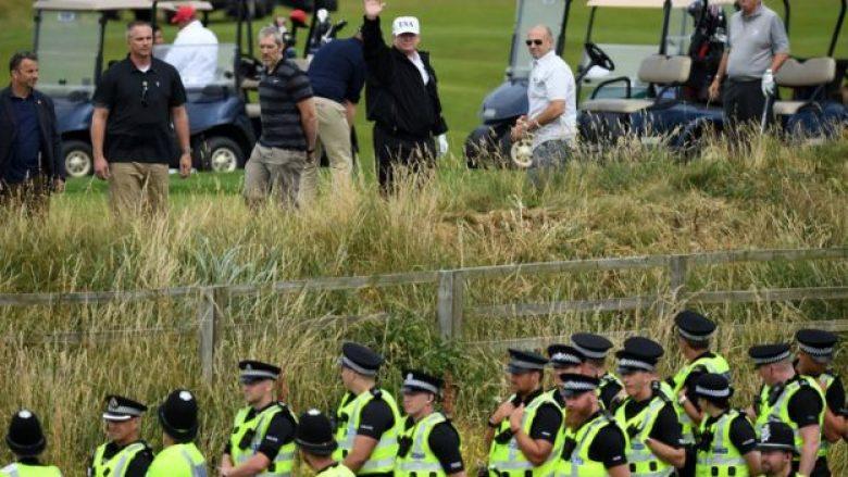 Vizita e Trumpit në Mbretërinë e Bashkuar kushtoi 24 milionë dollarë, mbi 10 mijë policë ishin përkujdesur për sigurinë e tij