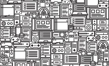 A mund ta gjeni librin e fshehur në mesin e pajisjeve të shumta elektronike? (Foto)