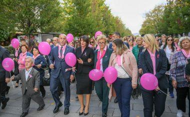 Haradinaj në ecjen vetëdijësuese kundër kancerit të gjirit
