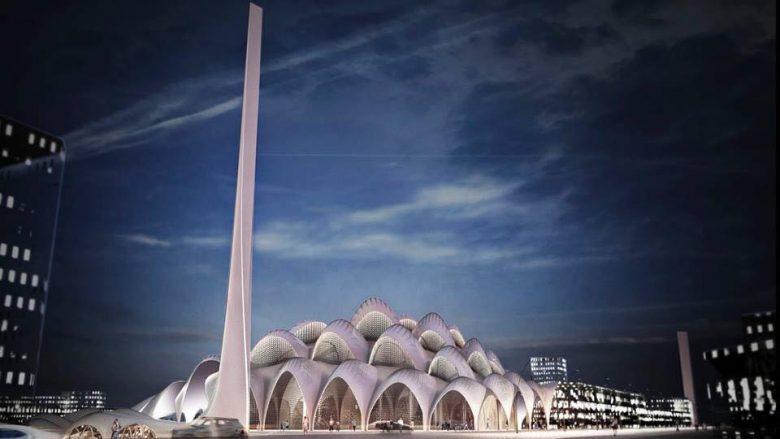 Sejdiu mbështet mbledhjen e fondeve për ndërtimin e Xhamisë së Madhe sipas projektit të Zaha Hadid