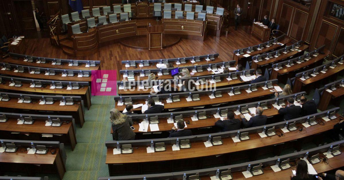 Nis seanca e Kuvendit të Kosovës