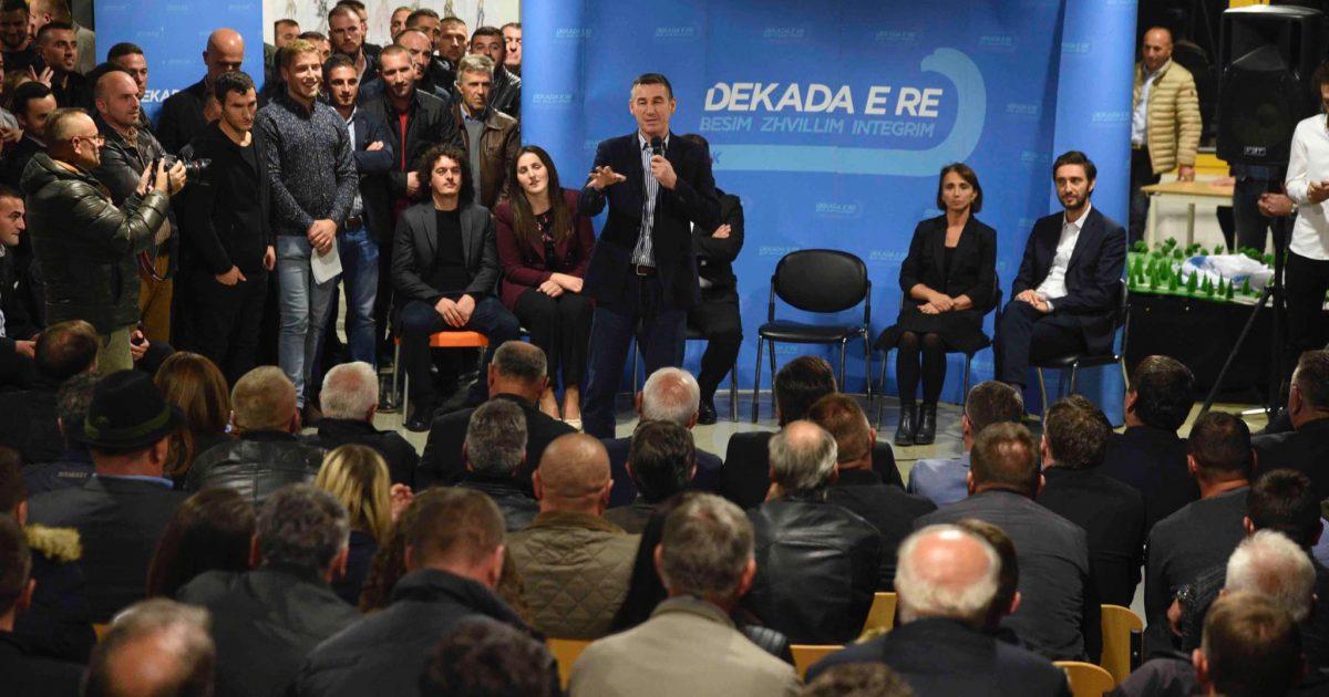 Veseli në Skënderaj: Bashkë do t'isjellim më shumë transformime Drenicës dhe Kosovës