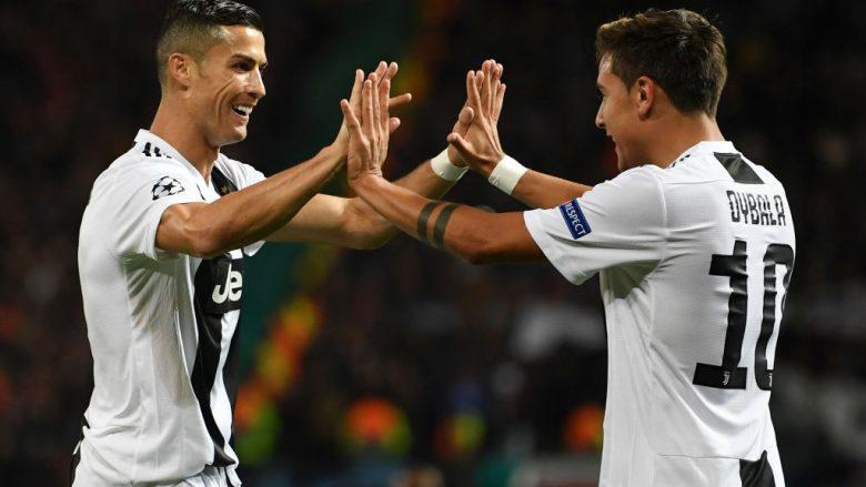 Cristiano Ronaldo dhe Paulo Dybala (Foto: Michael Regan/Getty Images/Guliver)